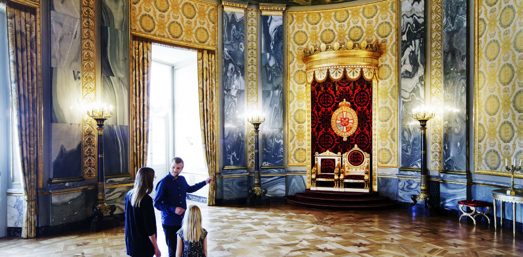 The Throne Room at Christiansborg Palace photo Thorkild Jensen