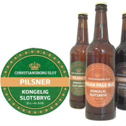 Christiansborg Palace Lager beer