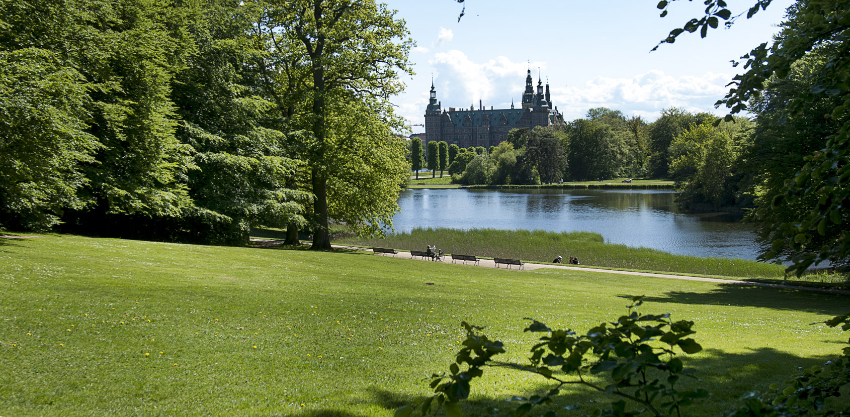 Frederiksborg Castle Gardens. Photo: Thomas Rahbek, SLKE