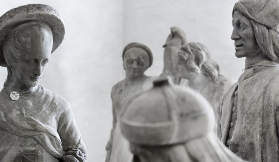 The original sculptures from The Valley of the Norsemen. Photo: Thorkild Jensen