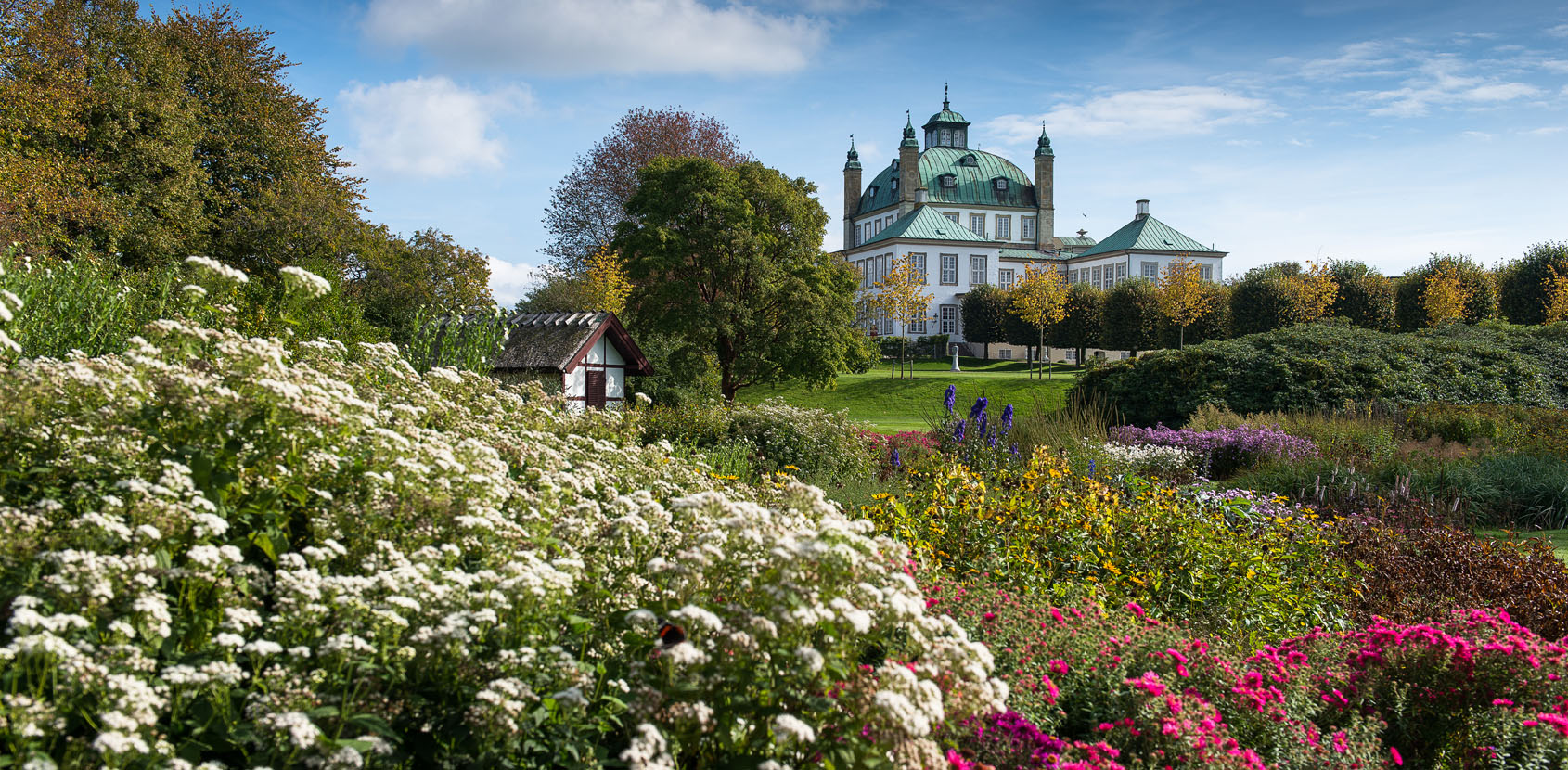 The Private Gardens at Fredensborg Palace photo: Thomas Rahbek, SLKS