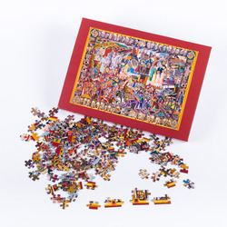 PUZZLE WITH THE ROYAL TAPESTRIES